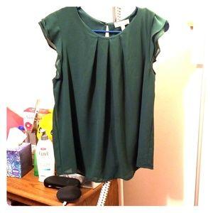 Green monteau shirt #246